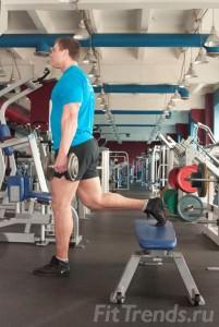 Тренируем четырёхглавую мышцу бедра