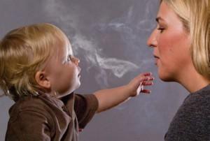 Пассивное курение угнетает психику