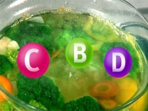 Как сохранить витамины при приготовлении овощей?