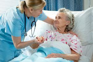Уход за пациентом в условиях стационара