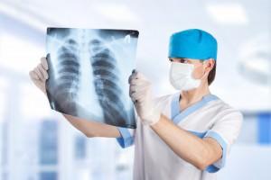 Обработка снятой рентгеновской пленки