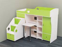 Кровать-чердак — новшество в детской мебели