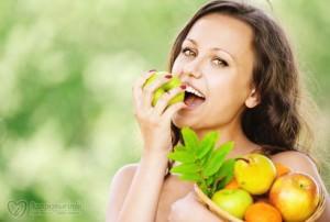 Еда и цвет зубов