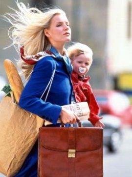 Организация времени молодой мамы