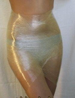 женщина в клиенке с горчицей