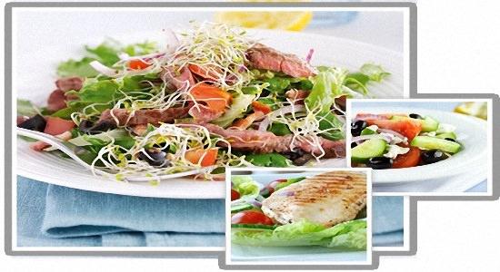 вкусное меню для здорового человека
