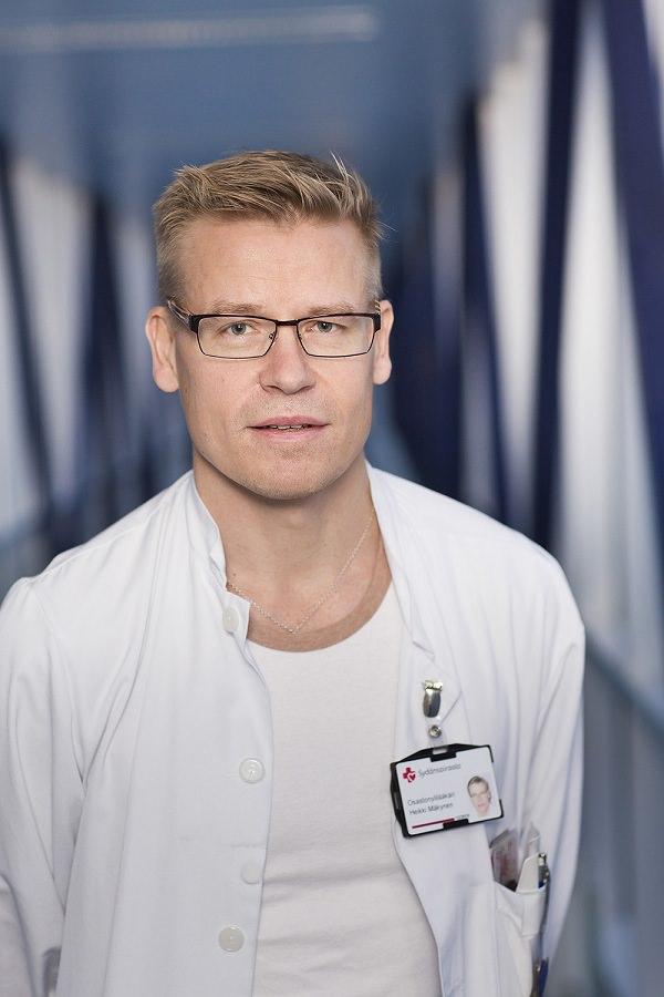 Хейкки Мякюнен – заведующий кардиологическим отделением Кардиоклиники